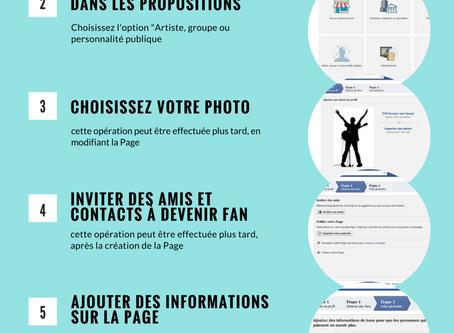 Comment créer votre page artiste sur Facebook ?