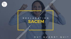 Diffusion public d'ouvres musicales, déclarations SACEM : Quand dois-je payer et a qui ?
