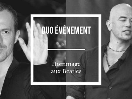 Un bel hommage à Paul McCartney et John Lennon dans un duo entre Obispo et Calogero