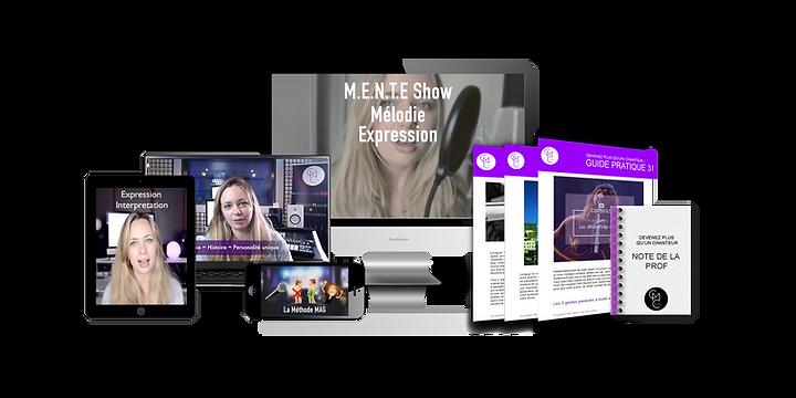 formation en ligne interprétation chant expression scénique