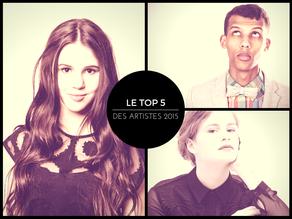 MON TOP 5 : Les artistes 2015 aux concepts touchants et inventifs