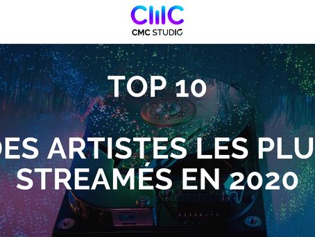 Le Top 10 des artistes les plus streamés en 2020, les femmes sont à l'honneur