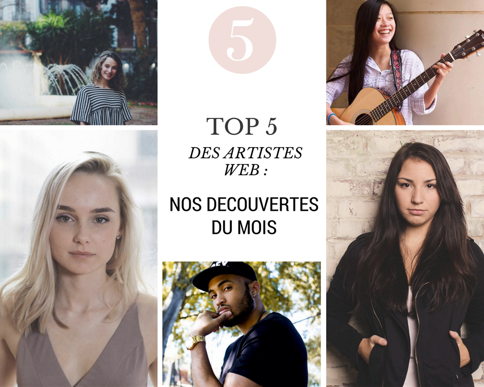 top 5 artistes web cover