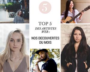 top 5 artistes web cover