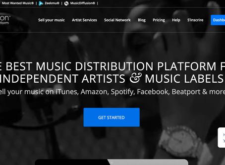 Music Diffusion : La plateforme de distribution qui aide les artistes