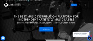 music diffusion distribution digitale musique