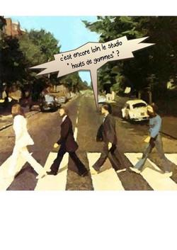 Gag toon Beatles