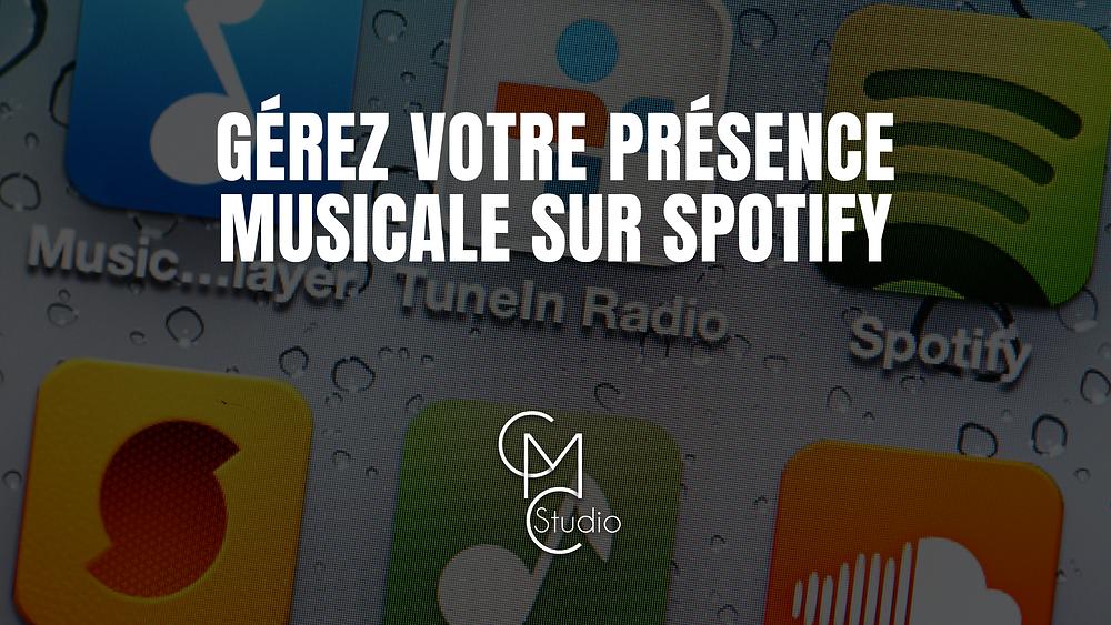 Gérez votre présence musicale sur Spotify