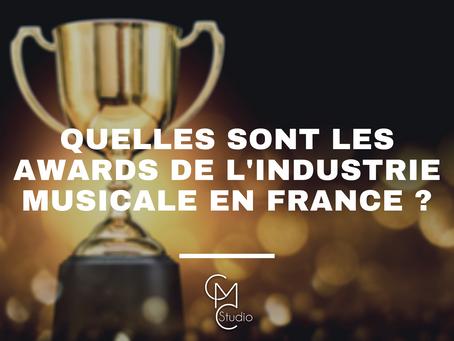 Quelles sont les Awards de l'industrie musicale en France ? (2/2)
