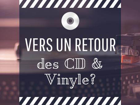 L'évolution des ventes des différents supports de musique : vers un retour des CD et vinyles ?