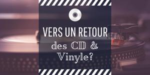 vente CD vs vinyle