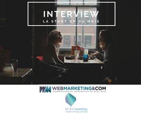 «La Startup du mois», nous avons été interviewé par Webmarketing & com