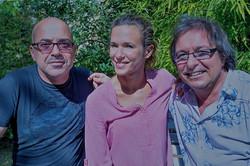 Jacques Veneruso, Laurie Peret et Fraid Damon