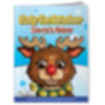 Rudy The Reindeer Coloring Book