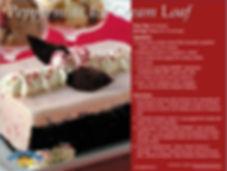 Peppermint Ice Cream Loaf Recipe Postcard