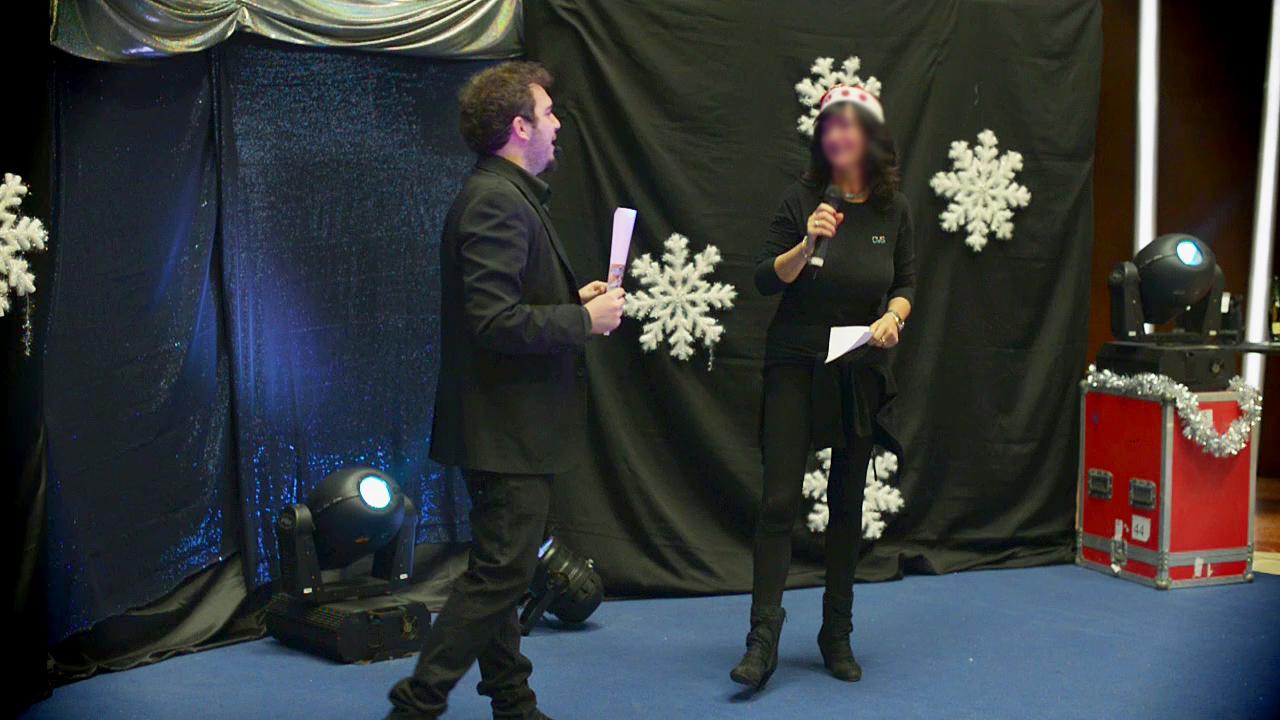presentatore