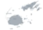 Fiji Landkarte