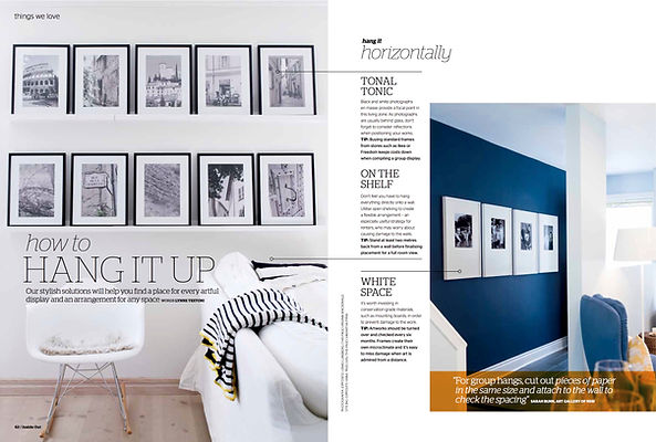 How-to story for Inside Out magazine by Lynne Testoni