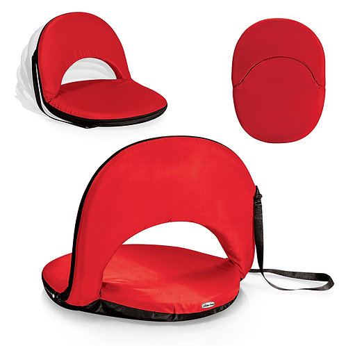 Catalog No. 626-00 - 100 Oniva Portable Reclining Seat - Red