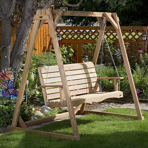 6'-Swing-a-frame-and-4'-porch-swing-set-catalog-number-af72-s