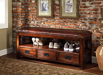 Convenient drawers and shoe storage