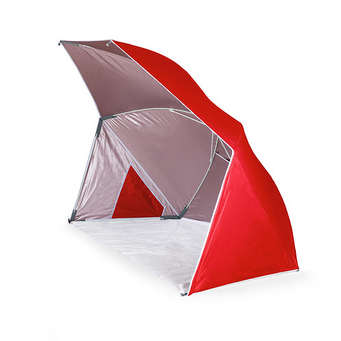 116-00-100 Brolly Beach Umbrella Tent - Red