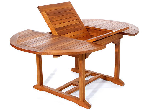 Teak-oval-butterfly-extension-table-catalog-number-te70