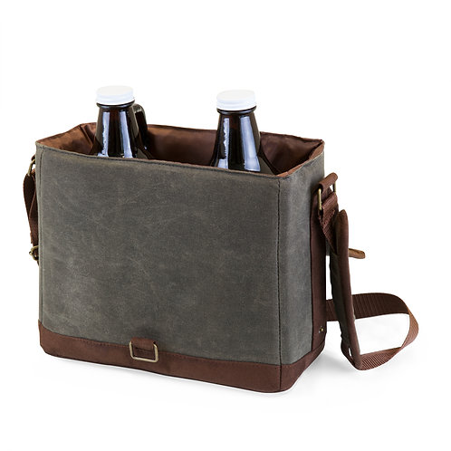 Catalog No. 613-00-140 - Insulated Double Growler Tote with Beer