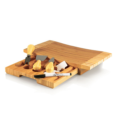 823-00-505 - Concavo Cheese Cutting Board & Tools Set