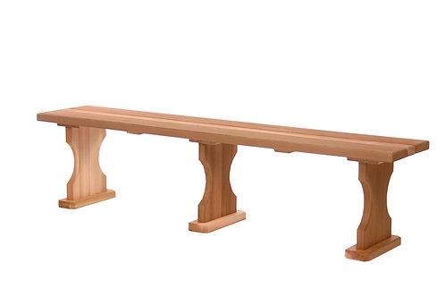 6ft-backless-cedar-bench-catalog-number-bb70