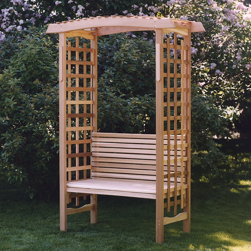 Cedar-garden-arbor-with-bench-catalog-number-ga87-b
