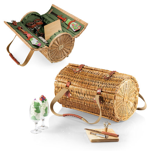 Catalog No. 224-82 - Verona Wine & Cheese Picnic Basket