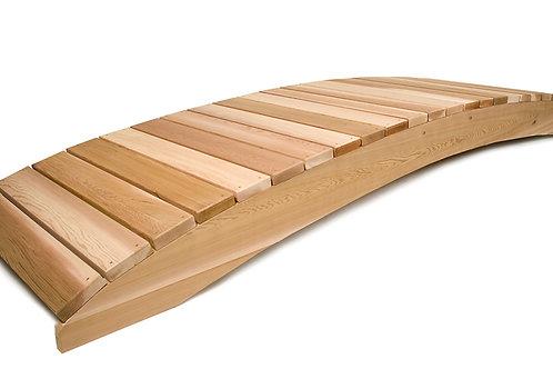 12ft-Cedar-garden-bridge-no rails-catalog-number-fb144