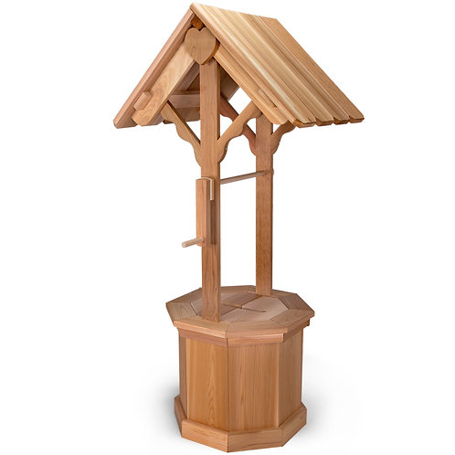 Cedar-4ft-wishing-well-with-gift-lid-catalog-number-ww45-wwc45