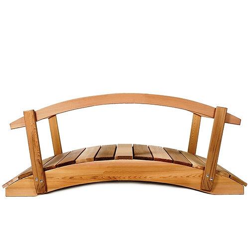 4ft-Cedar-garden-bridge-with-rails-catalog-number-fb48-r