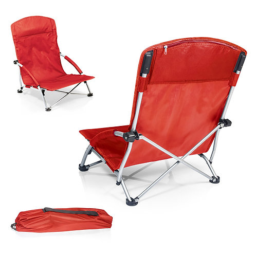 Catalog No. 792-00 - 100 Tranquility Portable Beach Chair - Red