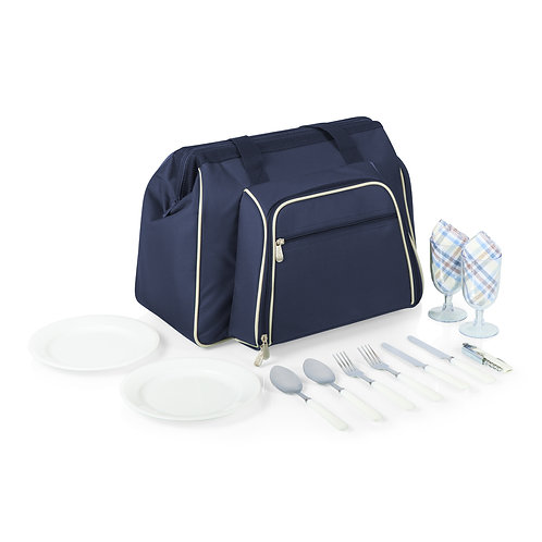 Catalog No. 401-42-138 - Toluca Picnic Cooler Tote - Closed With Display