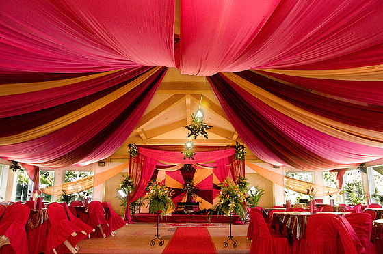Zhiniko Tents Draping