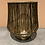 Thumbnail: Draad waxinehouder met gouden binnenkant