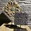 Thumbnail: Decoratieve standaard met houten batik stempel