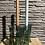 Thumbnail: Glazen kandelaar groen - laag