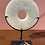 Thumbnail: Natuurstenen disc op standaard, klein