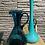 Thumbnail: Blauwe hoge glazen vaas