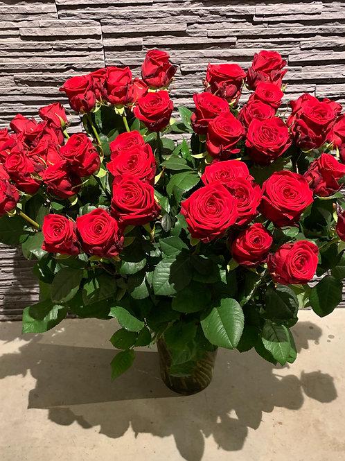 Luxe rode rozen