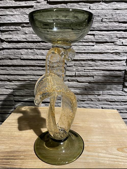 Glazen kandelaar, EDG
