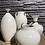 Thumbnail: Witte aardenwerk vaas