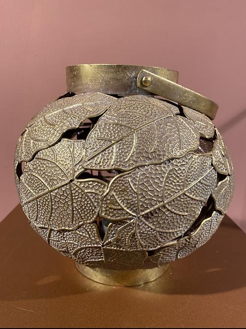 Gouden blad lantaarn