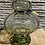Thumbnail: Groene glazen vaas - laag