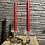 Thumbnail: Glazen kaarsenhouder - windlicht op standaard