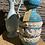 Thumbnail: Rijk gedecoreerde duitse vaas, paardjes
